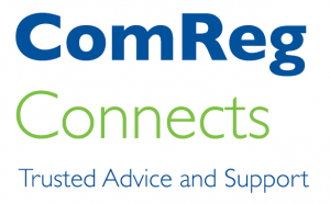 ComReg Connects Trusted Advice and Support Logo